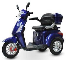 ECO ENGEL 500 Blau, 1000 Watt, 25 km/h, Seniorenmobil, Elektromobil, E Trike