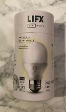 NEW FACTORY SEALED - LIFX Mini White LED Wifi Smart Bulb - E27 - 2700K - A19