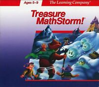 TREASURE MATHSTORM MATH STORM TLC +1Click Windows 10 8 7 Vista XP Install