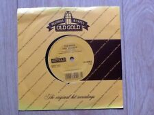 """THE MOVE . FIRE BRIGADE / FLOWERS IN THE RAIN 7"""" OLD GOLD"""