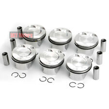 MAHLE 6x Pistons & Rings Set Φ85mm STD For BMW N52B30 E90 E85 E60 E25 130i 3.0L