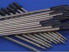 Woodturning Pen Kit Spares - REFILLS - Slimline x 10/Sierra etc x 5 Black/Blue