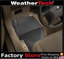 WeatherTech All-Weather Floor Mats - 1989-2007 - Honda Accord - Black