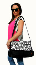 Stunning Brand New Diaper / Nappy Bag (black/white)