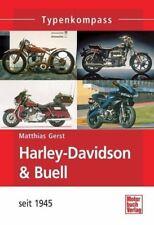Typenkompass Harley-Davidson / Buell-Motorräder mit V2-Motoren - Matthias Gerst