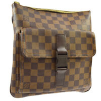 LOUIS VUITTON POCHETTE MELVILLE SHOULDER BAG DAMIER EBENE N51127 FL1026 01930