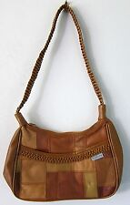 WOMEN'S HANDBAG BUTTERY SOFT LEATHER EMBASSY BRAIDED STRAP New w/Tag MINT