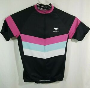 Women's Cycling Jersey Short Sleeve MTB Bike Clothing Road, Nine Bull, 2XL