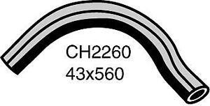 Mackay Radiator Hose (Bottom) CH2260 fits Jaguar XJ 3.6 (136kw), 3.6 (146kw),...