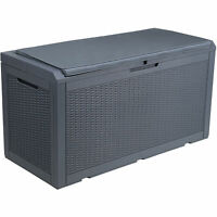 YITAHOME Large Outdoor Storage Deck Box Patio Container Organizer Bin Seating