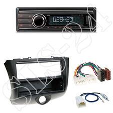 Caliber Radio RMD212 + Toyota Yaris (P1/P2) 2-DIN Blende schwarz + ISO Adapter