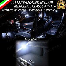 KIT LED INTERNI MERCEDES CLASSE A W176 ANTERIORE+POSTERIORE+BAGAGLIAIO NO ERROR