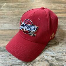 NWOT NEW VTG Cleveland Cavaliers NBA Playoffs adidas Stretch Plain Logo Hat Cap