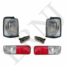 LAND ROVER DISCOVERY 2 99-02 CLEAR FRONT INDICATORS MARKERS & REAR BUMPER LIGHTS
