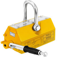 1320Lbs 600KG Steel Magnet Magnetic Lifter  Lifting Heavy Duty Hoist Crane
