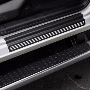 Door Sill Plate Threshold Protectors fits 2012 - 2021 Dodge Ram Truck Crew Cab