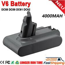 4000mAH Vacuum Cleaner Battery For Dyson V6 DC58 DC62 SV03 SV05 Fast Shipping