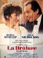 HEARTBURN 1986 Meryl Streep, Jack Nicholson, Jeff Daniels FRENCH POSTER