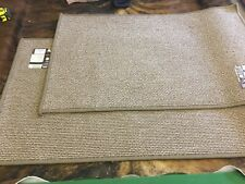 2 X JVL Oxford Machine Washable Anti Slip Kitchen/door Mat 90 x 57cm NEW