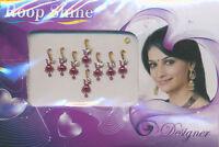 Bindis selbstklebender Indischer Stirnschmuck - Orient Bollywood Body Sticker