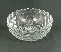 """Vintage Fostoria American Serving Bowl Clear Glass 8"""""""