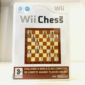 Wii Chess (Nintendo Wii) Disc in Great Condition PAL (Tested and Working)