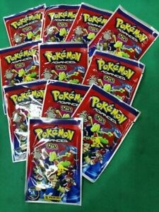 10 packs POKEMON Advanced STAKS PANINI 2003 without reserve price Extremely Rare