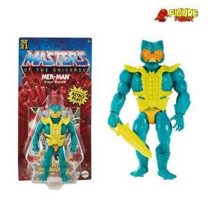 Mattel Masters of the Universe MOTU Origins 2021 Mer-Man Figure Unpunched NM