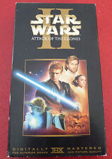 VHS Movie Star Wars II Attack of the Clones ! The Saga Continues...