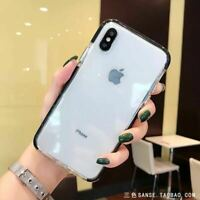 For Apple iPhone X XS Case Clear Thin Slim Cute Soft Silicone Shockproof Cover