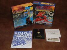 S.T.U.N Stun Runner / Jeu Amstrad CPC Disquette / Big Box Ver. Fr. / Complet!!!