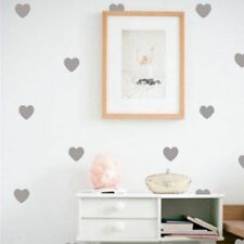 Little Hearts Wall Stickers Removable Home Decoration Wallpaper Decals Girl Room