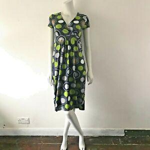ex BODEN Crossover Nursing/Breastfeeding Dress/Nightie Nightgown UK 6-14 Jersey