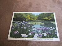 1960s postcard - Summer garden - The Heian Shrine - Sakyō-ku, Kyoto, Japan
