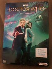 Doctor Who: The Peter Capaldi Collection (Dvd, 9-Disc Set, 2018) New