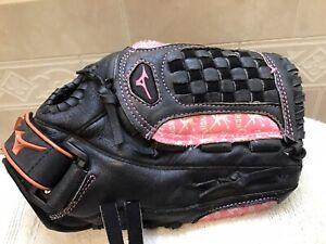 "Mizuno GPP-1108 11"" Youth Girl's Jenny Finch Softball Glove Right Hand Throw"