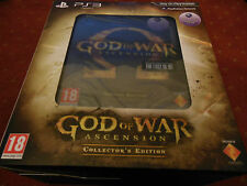 God of War Ascension Collector Edition-NEW BOXED-PS3