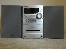 Sound and Vision Sony CMT HCD NEZ7 DAB compact disk deck receiver (ourcoderp)