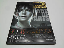 Bio Hazard Umbrella Chronicles Art of Arts w/spine Japan
