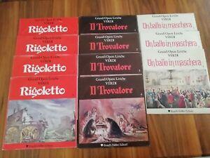 Lotto 11 LP Giuseppe Verdi Rigoletto Il Trovatore Un Ballo In Maschera