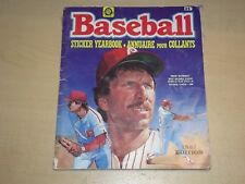 1987 OPC Baseball Sticker Album (Only Missing 2 Stickers)