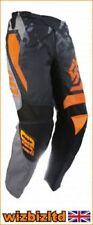 Pantaloni grigio per motociclista taglia 36