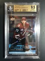 2016-17 Upper Deck Anthony DeAngelo Young Guns Clear Cut Rookie BGS 9.5