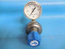 Advanced Specialty Gas Equipment Gas Regulator SG382075 w/ USG 100 psi Gauge