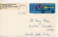 Estados unido Entero postal circulado año 1970 (DC-418)