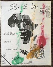 Stir It Up July / Aug 81 Toronto Punk Fanzine Kinetic Ideals The Jam Stranglers