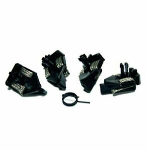 New Scalextric C8145, 4pcs. Short Stem Guide Blade Pickups