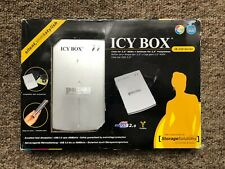 """Icy Box Portable External Hard Disk Drive 2,5"""" USB with Case"""