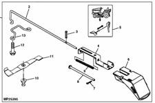 Genuine John Deere Mower Deck Mulch Kit LTR155 LTR166 LTR180 BM20686 Mulching