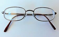 3M Rx Eyeglass Frames Unisex Metal Brown Satin Bronze 50 18 140